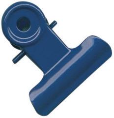 Clips Alco 19mm metaal assorti kleuren 5 stuks