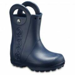Crocs - Kids Rainboot - Rubberen laarzen maat C7, blauw/zwart/grijs
