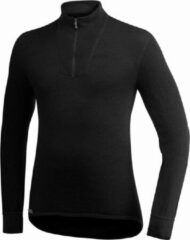 Woolpower - Zip Turtleneck 400 - Merino trui maat 3XL zwart