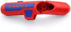 Knipex ErgoStrip 16 95 01 SB Kabelstripper Geschikt voor ronde kabel, Kabel voor vochtige ruimte, Datakabel, Coaxkabel 4.8 tot 13 mm 0.2 tot 4 mm²