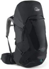 Lowe Alpine - Women's Manaslu 60 - Trekkingrugzak maat 60 l - Small: 43-53 cm, zwart/grijs