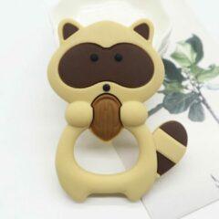 Bijtketting-winkel Eekhoorn Bijtring - Bruin