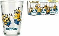 Set van 3 glazen van Minions ( 23.7cl)