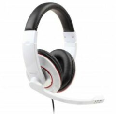 Gembird MHS-001-GW PC-headset 3.5 mm jackplug Kabelgebonden, Stereo Over Ear Zwart