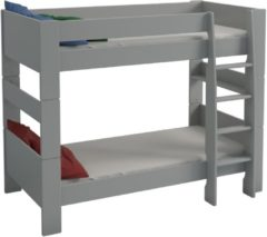 DS Style Stapelbed Kids 90x200cm in grijs
