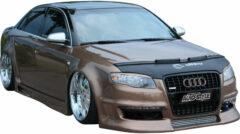 AutoStyle Motorkapsteenslaghoes Audi A4 8F 2005-2008 zwart