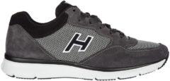 Grigio Hogan Scarpe sneakers uomo camoscio h254 t2015 h flock