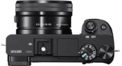 Sony Alpha ILCE-6300 Body System Kamera, 24,2 Megapixel, 7,6 cm (3 Zoll) Display