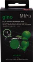 Groene Mr&Mrs Fragrance Mr & Mrs Fragrance - Gino Citrus - Car Scent