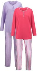 Schlafanzug Harmony koralle/flieder