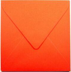 Top-Hobby 100 Enveloppen - Vierkant 14x14cm - Oranje