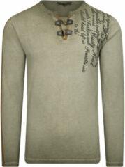 Kaki Rusty Neal heren shirt 10115