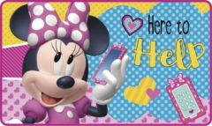 Disney tapijt Minnie Mouse meisjes 45 x 75 cm fleece