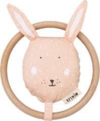 Trixie Rammelaar Mrs. Rabbit Junior 13 Cm Katoen/corduroy Roze
