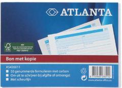 Atlanta Bonboekje A6 105 x 148 mm 70 g/m² 2 x 50 Vel