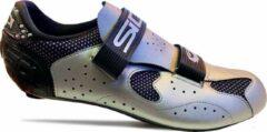 Sidi Scarpe Dynamic - Racefietsschoenen - Zwart Zilver - Maat 46