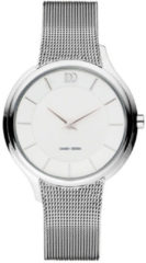 Zilveren Danish Design watches edelstalen dameshorloge Funen Silver IV62Q1194
