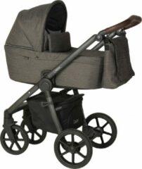 Bruine Quax Crooz Kinderwagen - Chevron Brown