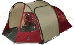 10-T Outdoor Equipment 10T Mandiga 5 - 5 Personen Tunnel-Zelt mit Vorraum, 2 Eingänge und Fenster, 5000mm