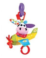 Yookidoo kinderwagenhanger Musical Plane Cow 25 cm