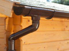'S'-lon S-Lon | PVC Dakgoot Lessenaarsdak EXTRA100 | Bruin | Verlengset 175 cm