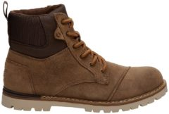 TOMS Men's Ashland Waterproof Suede Hiker Boots - Twig - UK 9 - Brown