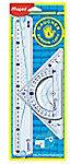 Maped Office Geometric Kit 30 cm 3-delig voor linkshandigen