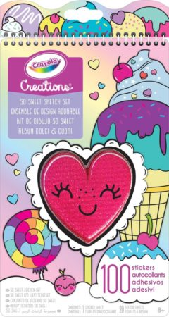 Afbeelding van Crayola kleurboek Oh So Sweet meisjes 28 cm papier 120-delig