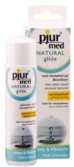 Transparante Pjur MED Natural Glide glijmiddel - 100 ml