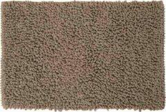 Zandkleurige Sealskin Twist Badmat Polyester 60x90 cm Zand
