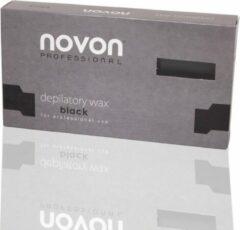 Novon Harsblok - Ontharings Hars - Ontharings Wax - Wax - Voor Wax Apparaat - 500 gram - Black - Zwart