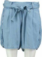 Blauwe Guess soepel lyocell denim short loose fit - Maat W26