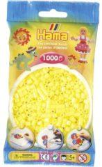 Gele Hama Strijkkralen Pastel Geel - 1000 Stuks