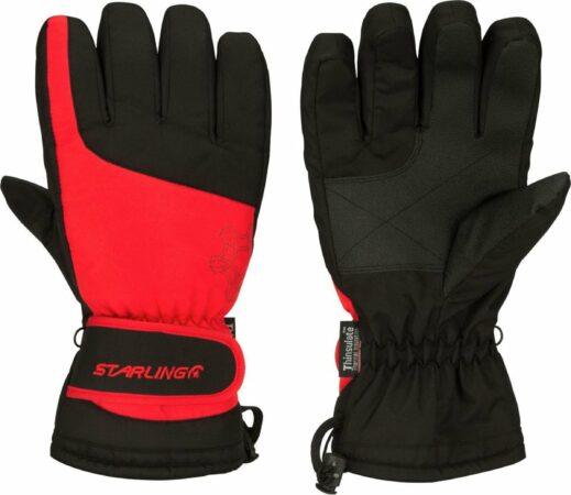 Afbeelding van Rood/zwarte wintersport handschoenen Starling met Thinsulate vulling voor volwassenen XXL (11)