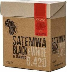Satemwa Black & White Thee - 12 Tea Bags