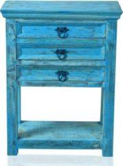SIT Möbel Telefontisch blue washed Altholz massiv Sit-Möbel