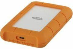 LaCie STFR4000800 Rugged Externe harde schijf (2.5 inch) 4 TB Zilver, Oranje USB-C
