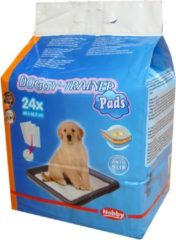 Nobby doggy trainer pads antislip, type 2 wit 62,5 x 48 cm - 32 gr