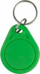 WL4 RFID tags groen met key ring (10 stuks)