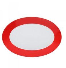 Rode Arzberg Tric serveerschaal 38 cm Hot