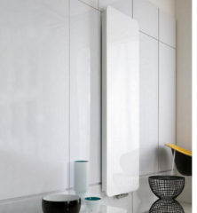 HD Heating Handdoekradiator IP Cupertino Glas Wit In 6 Verschillende Maten (Ook in elektrische uitvoering)