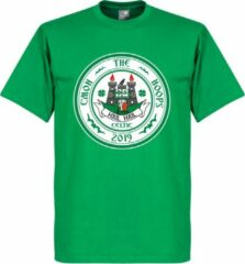 Merkloos / Sans marque C'mon the Hoops Celtic Logo T-Shirt - Groen - XL