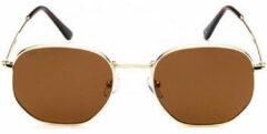 Gouden Zonnebril Sunxy Rodas