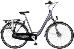 28 Zoll Damen City Fahrrad 7 Gang Hoopfietsen... grau, 52cm