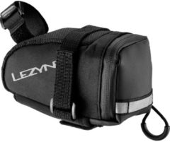 Zwarte Lezyne Caddy zadeltas (medium) - Zadeltassen