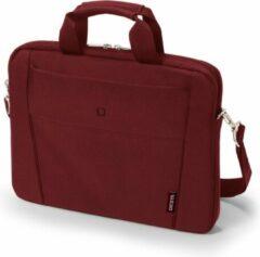 Dicota Laptoptas Tasche / Notebook / Slim Case BASE / Geschikt voor max. (laptop): 35,8 cm (14,1) Rood