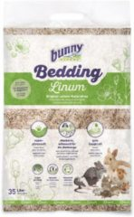 Bunny nature bunnybedding linum vlasvezel 35 liter