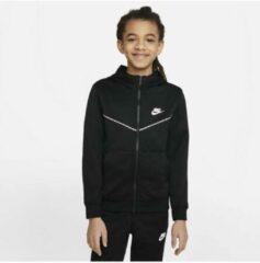Zwarte Nike Sportswear Club Fleece vest jongens