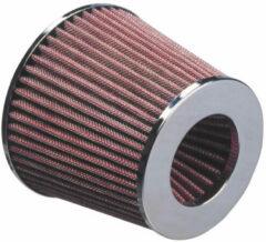 Roze AutoStyle Universeel Luchtfilter conisch - 63,5mm aansluiting