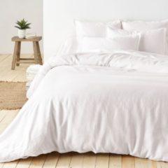 Taupe La Redoute Interieurs Bettbezug, reines vorgewaschenes Leinen